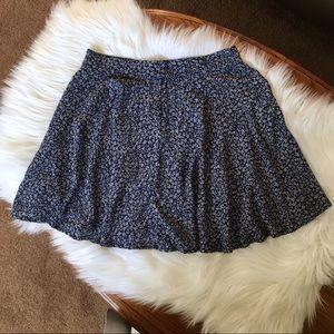🆕F21 Floral Skater Skirt